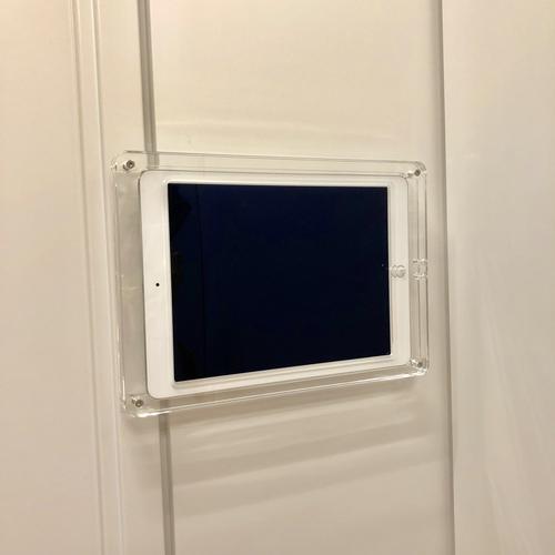 会議室予約システム用iPad壁面固定ケース.jpeg