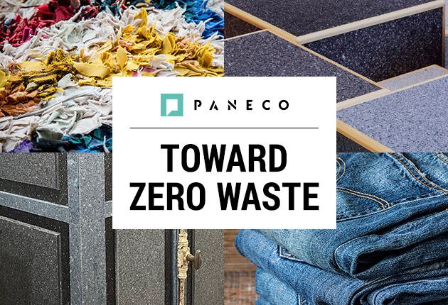 「PANECO」環境に配慮したサスティナブルな循環型繊維リサイクルボード